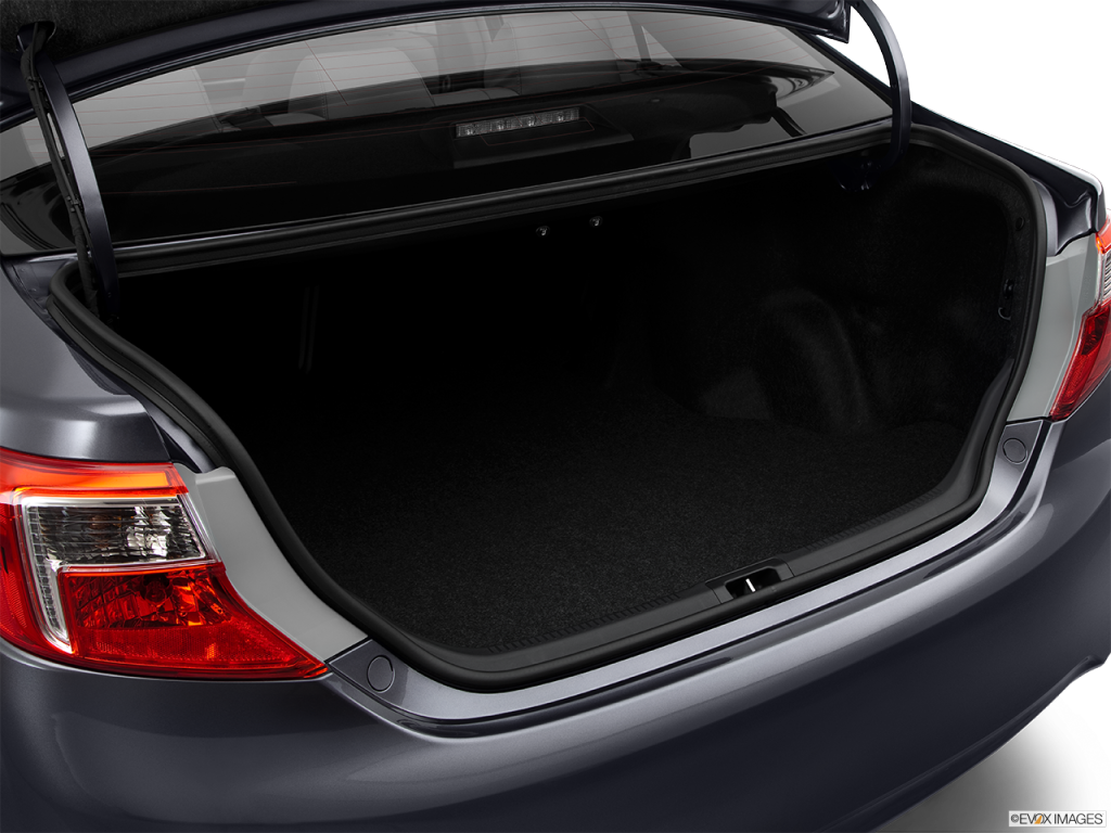 You Could A Lot Of Junk In The Camry's Trunk