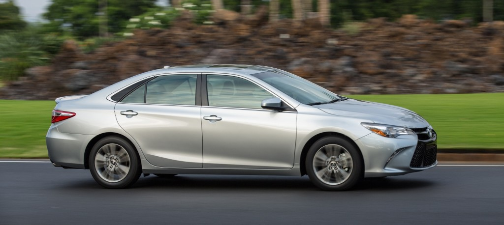 2015 Toyota Camry Se Side View   Copy