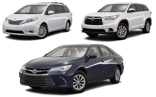 Toyota Top Family Models