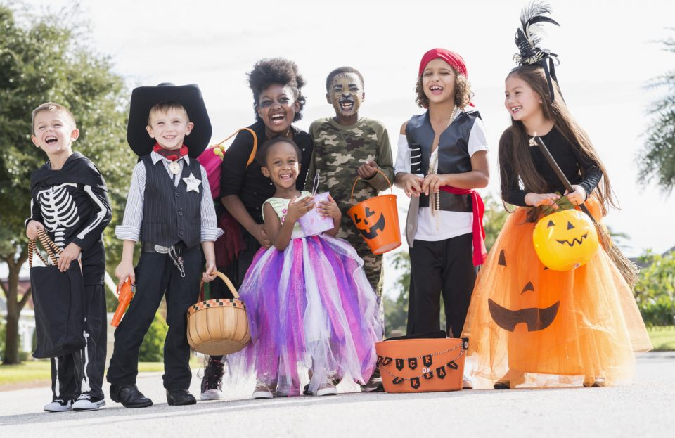 Trick-or-Treating Shops at Ardmore